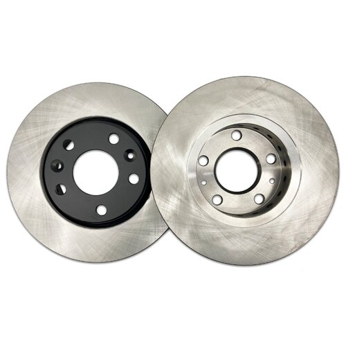 Комплект тормозных дисков передний NIBK RN43007 280x24 для Renault Duster, Renault Fluence (2 шт.)
