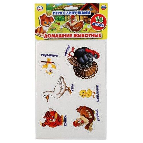 Купить Настольная игра Умка Домашние животные с липучками, Настольные игры