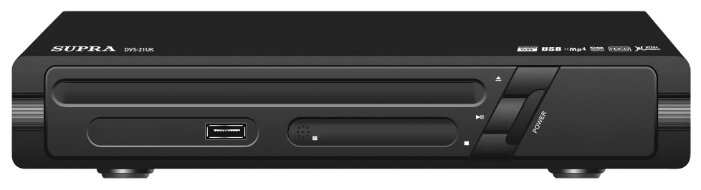 DVD-плеер SUPRA DVS-21U, черный