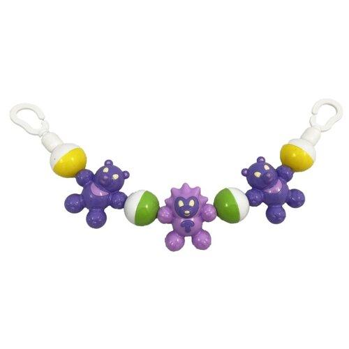 Купить Растяжка Аэлита Дружные ребята (2C490) фиолетовый/белый, Подвески