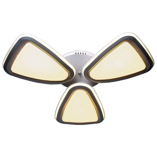 Светильник светодиодный Ambrella light FG1010/3 WH/SL 204W D770, LED, 153 Вт встраиваемый светильник ambrella light p2350 sl