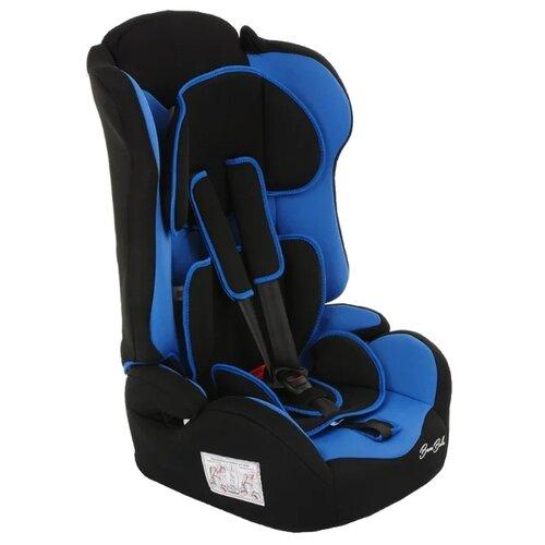 Фото - Автокресло группа 1/2/3 (9-36 кг) BamBola Primo, чёрный/синий автокресло группа 0 1 до 18 кг bambola bambino темно синий бежевый