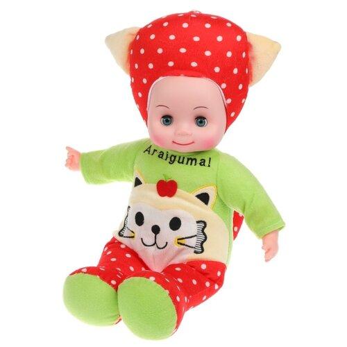 Купить Кукла мягконабивная Наша Игрушка Котенок, звук, Наша игрушка, Куклы и пупсы