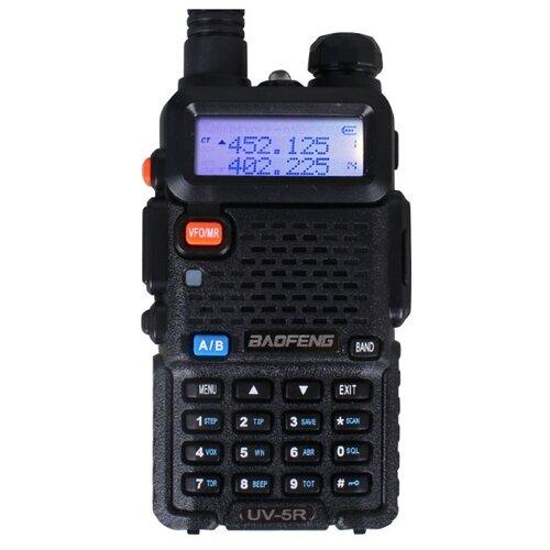 Рация Baofeng UV-5R 8W (3 режима мощности) черный рация baofeng uv 5r 8w 2 режима мощности