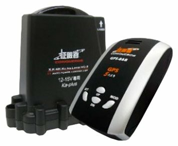 Радар-детектор Conqueror GPS-868