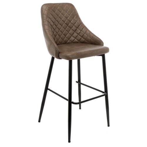Стул Woodville Rumba, металл/текстиль, цвет: brown стул woodville dodo металл текстиль цвет синий