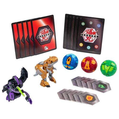 цена на Игровой набор Spin Master Bakugan Battle Pack Darkus Cyndeous Aurelus Trox 6054989