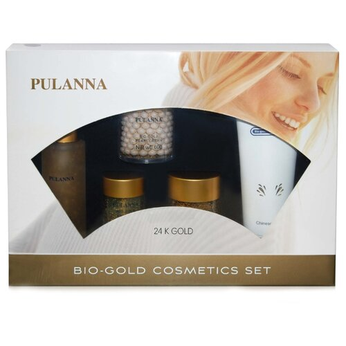 Набор PULANNA Bio-gold Cosmetics Set 24 K Gold набор pulanna grape cosmetics set