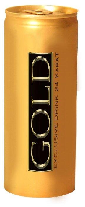 Энергетический напиток GOLD Exclusive Drink 24 Karat
