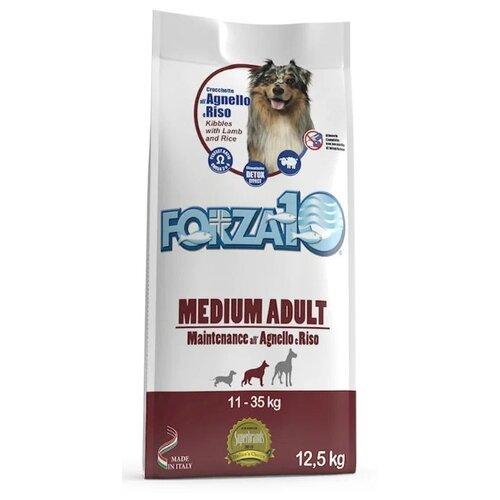 Сухой корм для собак Forza10 ягненок, с рисом 12.5 кг (для средних пород)