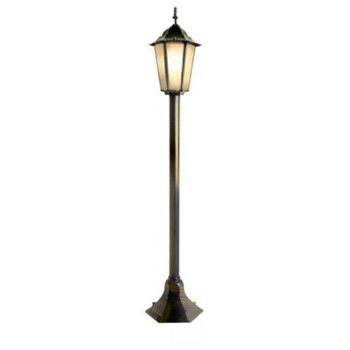 Elektrostandard Уличный светильник на столбе GL 1014F черное золото уличный настенный светильник elektrostandard 1001u черное золото 4690389073748