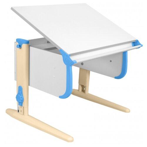 Купить Стол ДЭМИ СУТ-24 75x55 см белый/ниагара/бежевый, Парты и столы