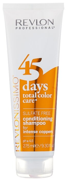 Шампунь Revlon Professional Revlonissimo 45 Days Total Color Care 2 in 1 for Intense Coppers