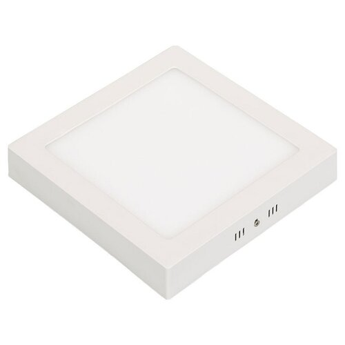 Светодиодный светильник Arlight SP-S225x225-18W White, 22.5 х 22.5 см цена 2017