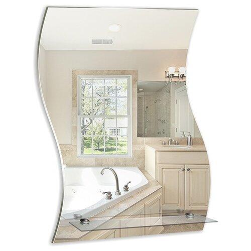 Зеркало Mixline Волна 525473 43x59 см без рамы