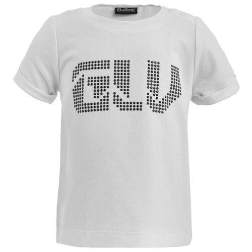 Купить Футболка Gulliver Baby, размер 86, белый, Футболки и рубашки