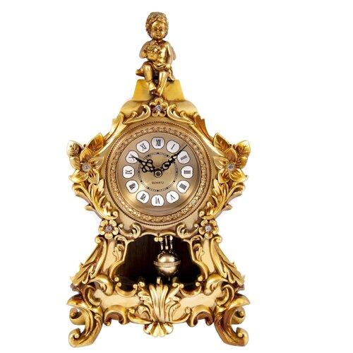 Часы каминные Русские подарки Ангел золотистый мыло цитрусовый микс русские подарки