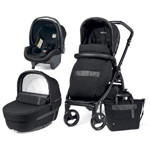 Купить Универсальная коляска Peg-Perego Book 500 Elite Modular (3 в 1) rock black, Коляски