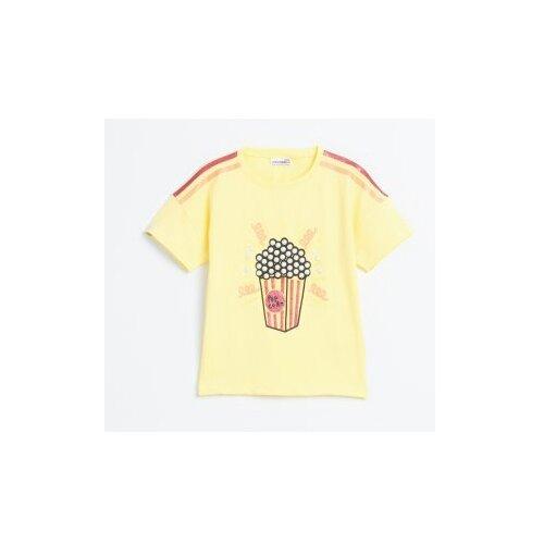 Футболка COCCODRILLO размер 104, желтый футболка coccodrillo coccodrillo mp002xg00hvs