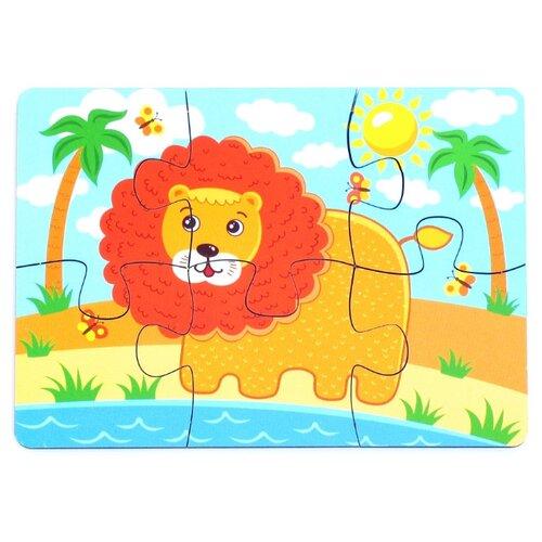 Пазл PAREMO Лев (PE720-66), 6 дет. пазл paremo лев pe720 66 6 дет