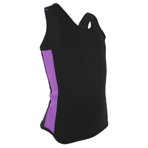 Фото - Майка Grace Dance размер 30, черный/фиолетовый леггинсы grace dance размер 46 черный фиолетовый