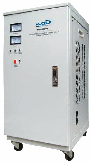 Стабилизатор напряжения однофазный RUCELF SDV-15000 (13 кВт)
