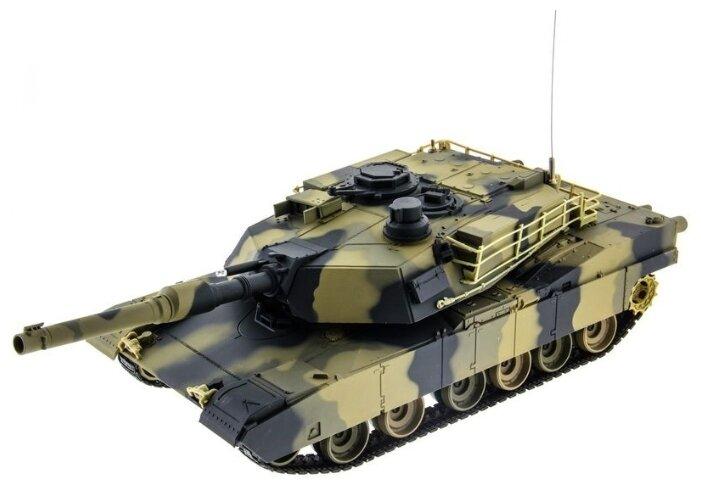 Танк Heng Long M1A2 Abrams (3816) 1:24 41 см фото 1