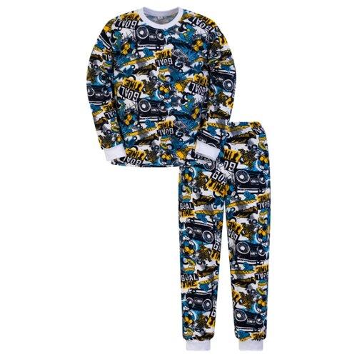 Пижама Утенок размер 110, голубой по цене 450