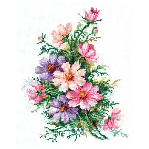 Купить Чудесная Игла Набор для вышивания Космея 18 х 24 см (40-54), Наборы для вышивания