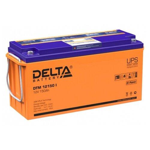 Аккумуляторная батарея DELTA Battery DTM 12150 I 150 А·ч аккумуляторная батарея delta battery dtm 1275 l 75 а·ч
