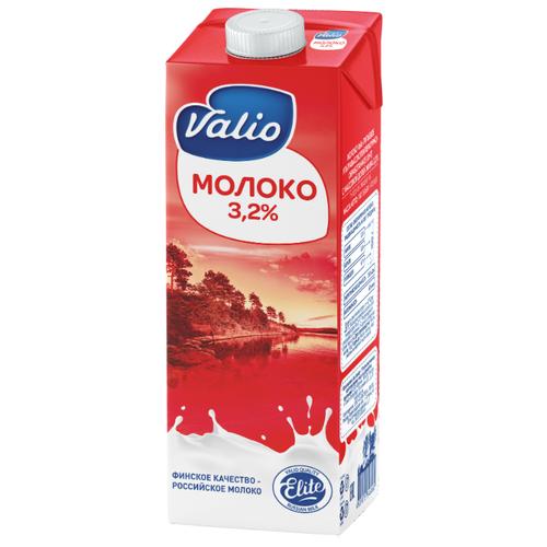 Молоко Valio ультрапастеризованное 3.2%, 1 л молоко брянский молочный комбинат ультрапастеризованное 1 5