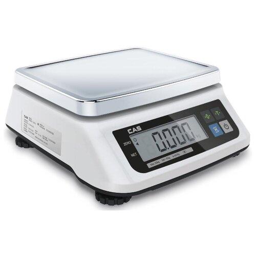 Весы эл.порционные CAS SWN-3 без акб cas лабораторные весы cas xe 600