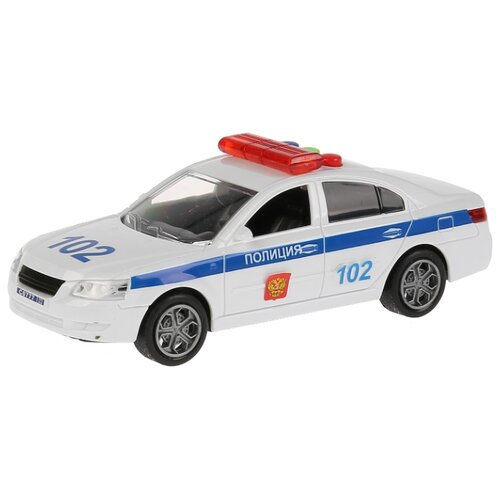Легковой автомобиль ТЕХНОПАРК Седан Полиция 1726360-R 14.5 см белый легковой автомобиль технопарк электокар x600 h09225 r 10 см черный белый