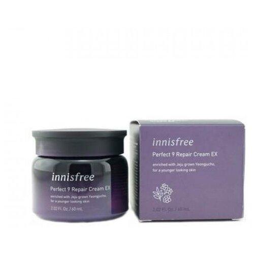 Innisfree Perfect 9 Repair Cream Омолаживающий восстанавливающий крем для лица, 60 мл