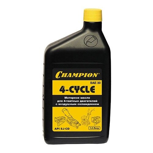 Масло для садовой техники Champion 4-Cycle SAE30 1 л