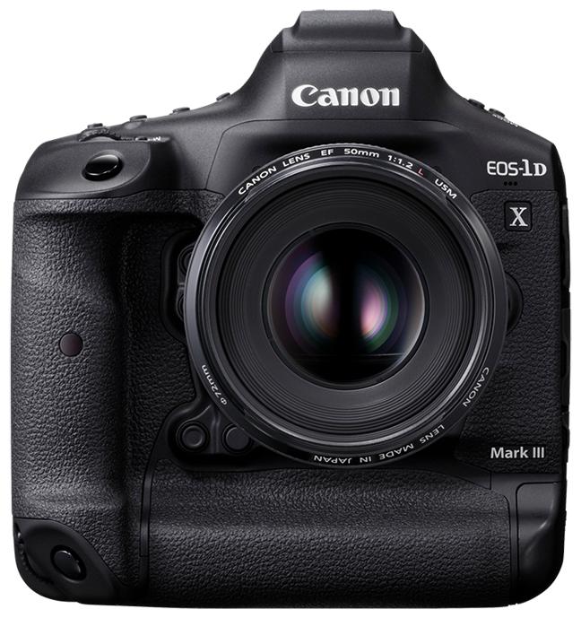 Фотоаппарат Canon EOS 1D X Mark III Body черный фото 1