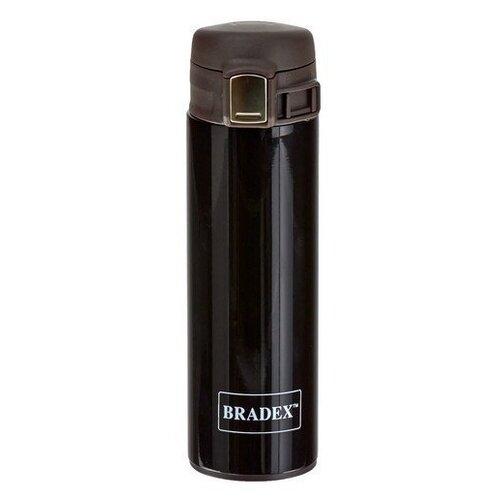 Фото - Термокружка BRADEX TK 0414, 0.32 л черный термокружка bradex tk 0420 chocolate