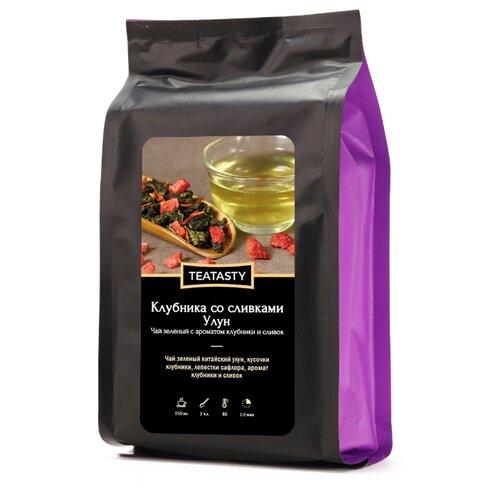 Чай улун TEATASTY Клубника со сливками , 200 г чай улун teatasty молочный най сян 2 150 г
