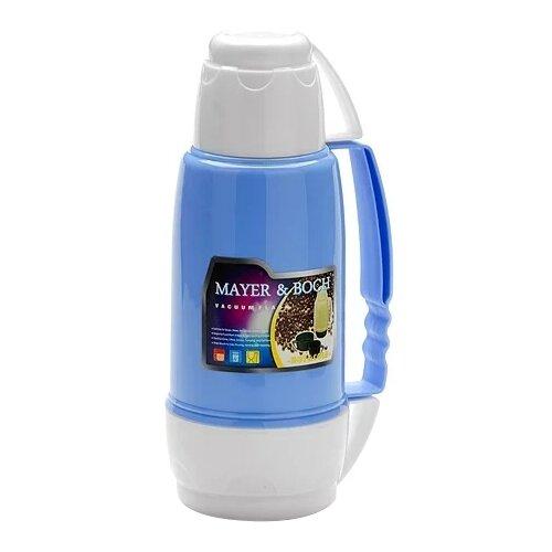 Классический термос MAYER & BOCH 21645, 1.8 л белый/голубой