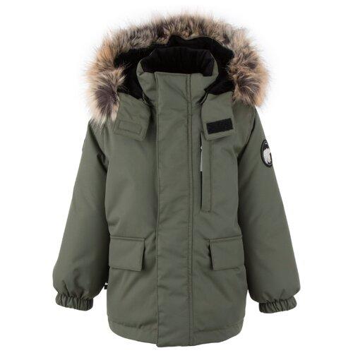 Купить Парка KERRY Snow K20441 размер 98, 330 хаки, Куртки и пуховики