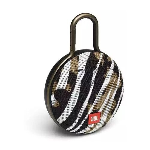 Портативная акустика JBL Clip 3 Black Star, 3.3 Вт, black/white/brown