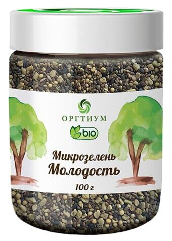 Оргтиум Микрозелень Молодость, 100 г