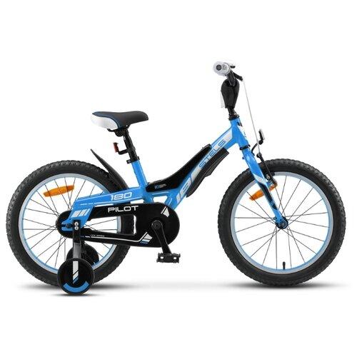 цена на Детский велосипед STELS Pilot 180 18 V010 (2020) синий 10.5 (требует финальной сборки)