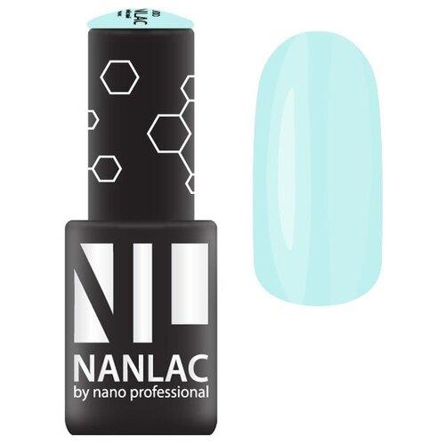 Купить Гель-лак для ногтей Nano Professional Macaron, 6 мл, оттенок 2207 тиффани-блю
