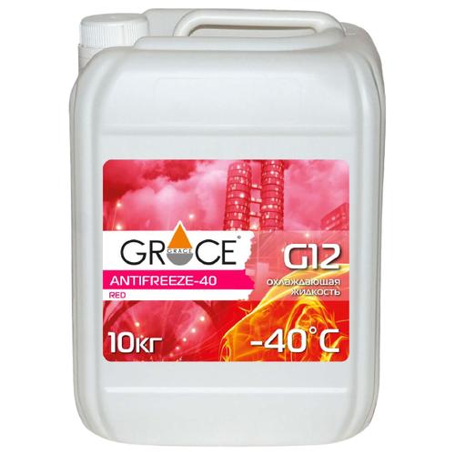 Антифриз Grace Lubricants -40 G12 red 10 кг