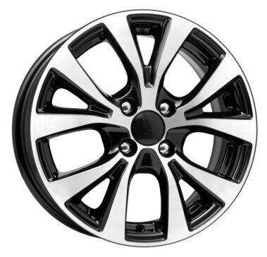 Диск колесный K&K КС685 6x15/4x100 D54.1 ET48 Алмаз черный