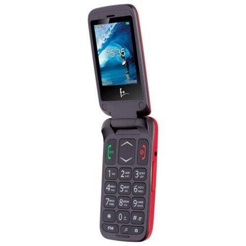 Телефон F+ Ezzy Trendy1 красный телефон