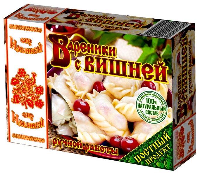 От Ильиной Вареники с вишней ручной работы 450 г
