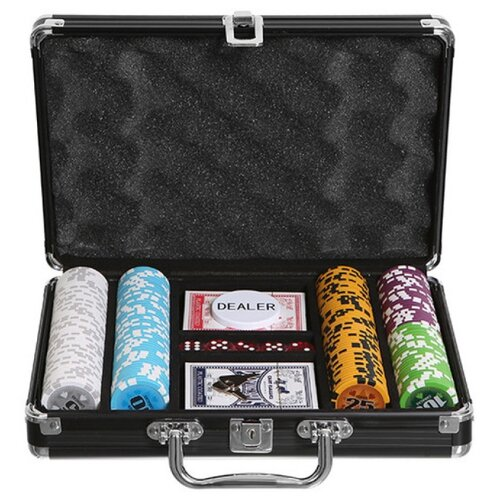 набор для покера us dollar usd500 на 500 фишек c номиналом Набор для покера Partida Caracas, 200 фишек