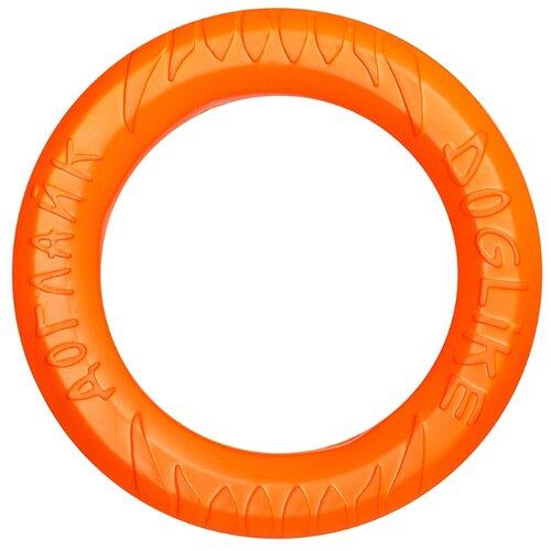Фото - Кольцо для собак Doglike Кольцо 8-ми гранное большое (D-2611) оранжевый игрушка для собак doglike шинка гига оранжевый
